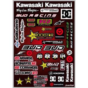 Planche stickers ( BUD RACING 2011)