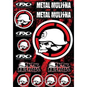 Planche stickers ( METAL MULISHA 2 )