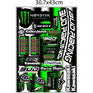 Planche stickers ( BUD RACING team 2016 )