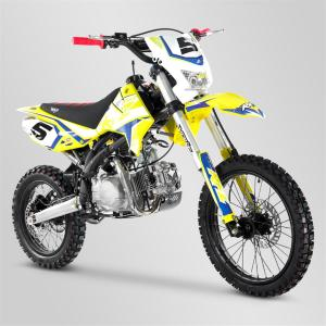 Pit-Bike (RFZ 150 Open enduro jaune) APOLLO MOTORS