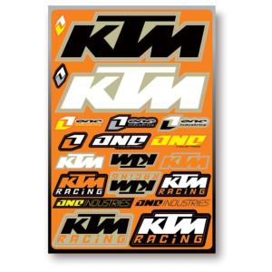 Planche stickers ( One KTM )