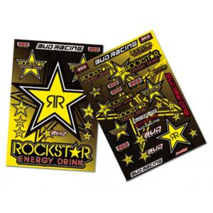 Planche stickers ( ROCK STAR )