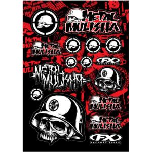 Planche stickers ( METAL MULISHA FX )