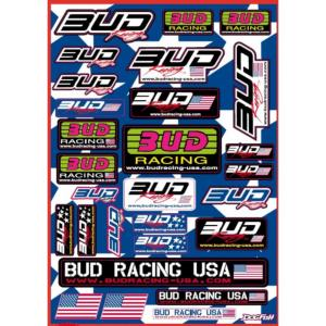 Planche stickers ( BUD RACING USA )
