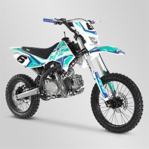 Pit-Bike (RFZ 150 Open enduro bleue) APOLLO MOTORS