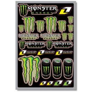 Planche stickers ( monster )